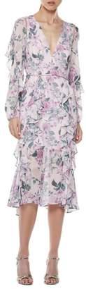 LA MAISON TALULAH Floral Pleasure Midi Dress