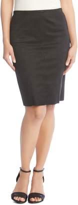 Karen Kane Faux Suede Skirt