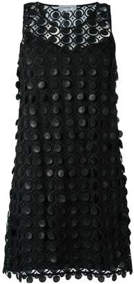 Carven embroidered lace dress