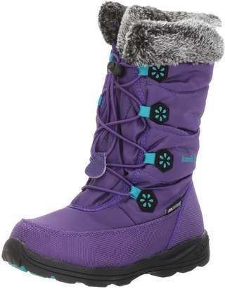 Kamik Girl's Ava Snow Boots, Purple/Teal
