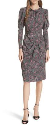 Rebecca Taylor Hudson Silk Paisley Dress