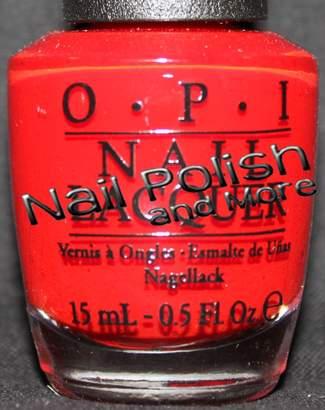 OPI Swiss Shades Color So Hot It Berns 15 ml