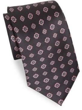 Brioni Silk Floral Tie