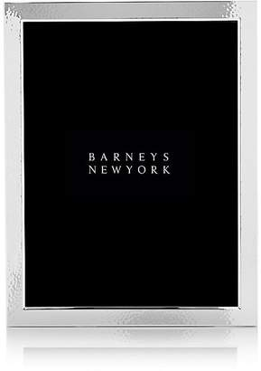 """Barneys New York Hammered Silver-Plated 8"""" x 10"""" Picture Frame"""