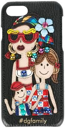 Dolce & Gabbana (ドルチェ & ガッバーナ) - Dolce & Gabbana tdgfamilyパッチ iPhone 7 カバー