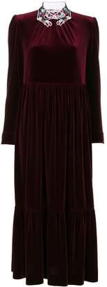 VIVETTA pleated evening dress