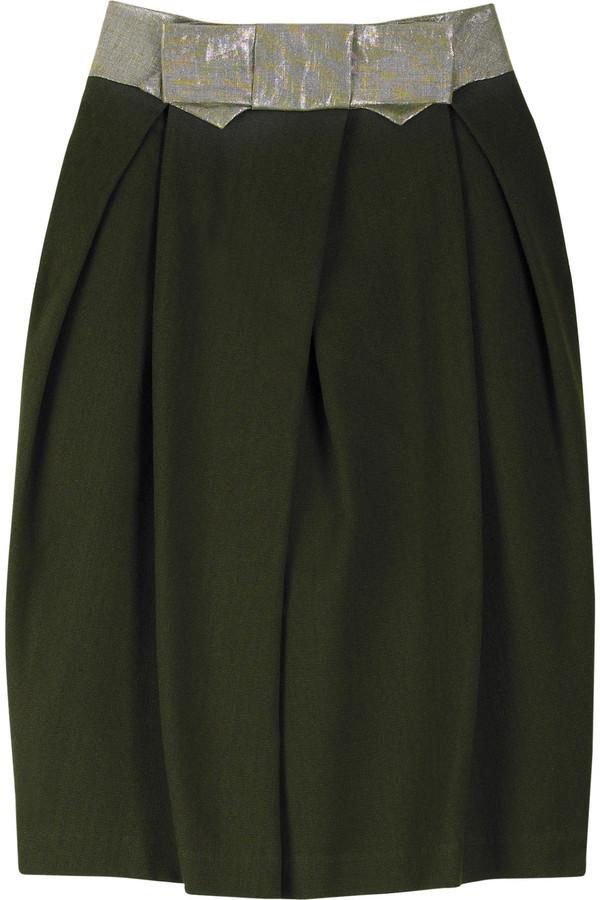 Erotokritos Cotton tulip skirt