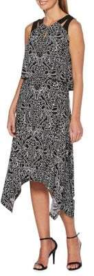 Rafaella Printed Asymmetric Dress