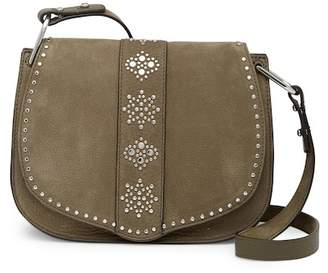 Rebecca Minkoff Stargazing Nubuck Leather Saddle Crossbody Bag