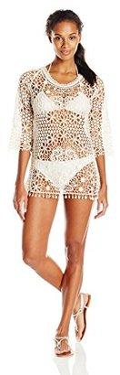 Jantzen Women's Crochet Cover Up $82 thestylecure.com