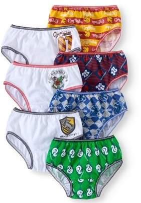 Harry Potter, Girls Underwear, 7 Pack Panties (Little Girls & Big Girls)