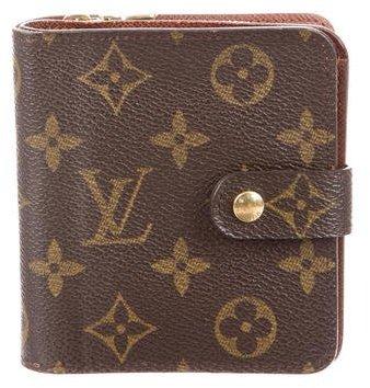 Louis Vuitton Monogram Compact Zippé Wallet