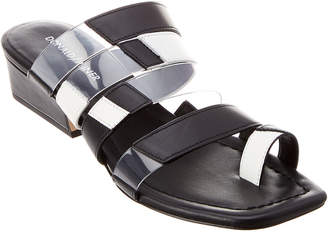 Donald J Pliner Doris Colorblock Leather Sandal