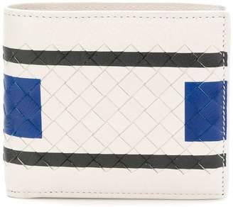 Bottega Veneta mist softlux calf bi-fold wallet
