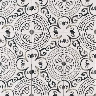 "MSI Kenzzi Paloma 8"" x 8"" Porcelain in White"