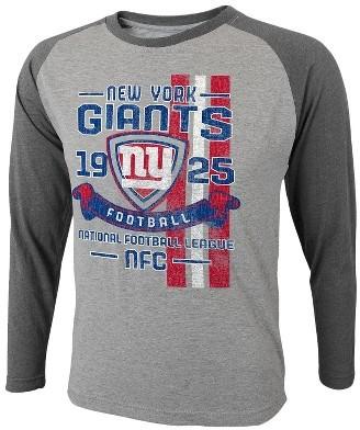 NFL Boys Long Sleeve Tee Giants