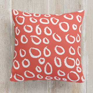 Circle Circle Self-Launch Square Pillows