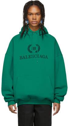 Balenciaga Green BB Hoodie