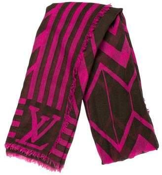 Louis Vuitton Cashmere & Silk Stole