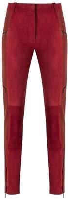 Reinaldo Lourenço leather skinny trousers