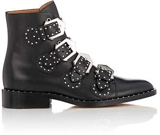 Givenchy Women's Elegant Studded Leather Ankle Boots