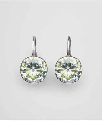 Bottega Veneta Chamomile Cubic Zirconia/Oxidized Silver Earrings