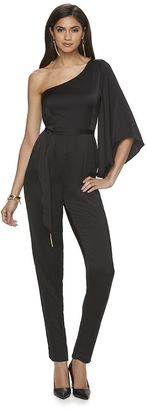 Women's Jennifer Lopez Asymmetrical Jumpsuit $70 thestylecure.com