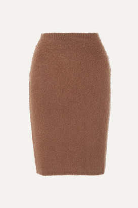 Versace Knitted Skirt - Brown