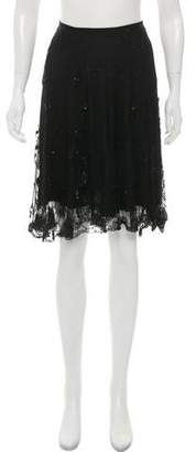 Ralph Lauren Embellished Knee-Length Skirt
