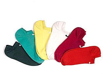 Nike Women s Multi-Color No-Show Lightweight Socks 6-Pack