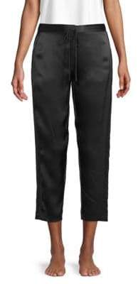 Natori Cropped Silk Pants