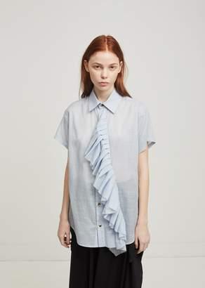 Nocturne #22 Frill Short Sleeve Shirt