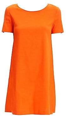 Theory Women's Linen-Blend Shift Dress