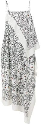 Christian Wijnants Dajima floral-print asymmetric midi dress