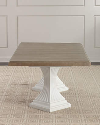 Hooker Furniture Eleri Double Pedestal Dining Table