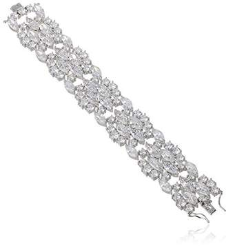 Kenneth Jay Lane CZ by Special Occasion Multi-Cubic Zirconia Statement Bracelet