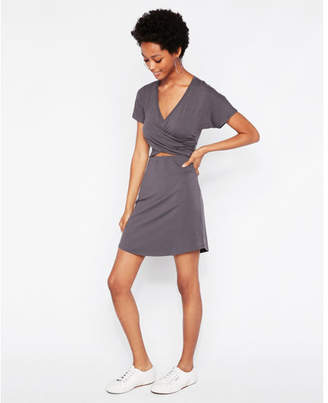 Express crisscross cut-out dress