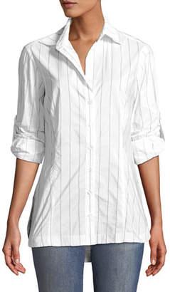 Finley Joey Tech Pinstriped Shirt