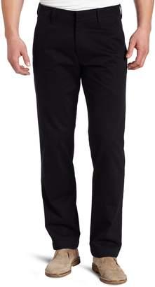 Haggar Men's Life Khaki Slim Fit Flat Front Dress Trouser Pant