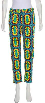 Jeremy Scott Printed Mid-Rise Jeans w/ Tags