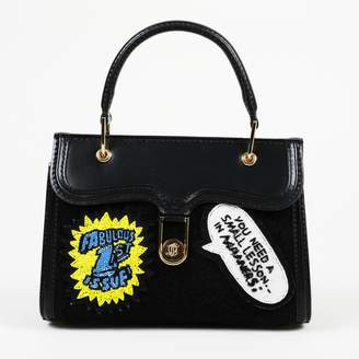Olympia Le-Tan Olympia Le Tan Black Leather Handbags