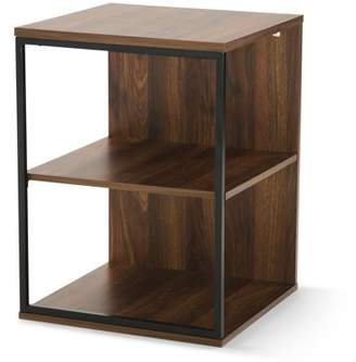 Mainstays Kalla Wood and Metal 3 Shelf End Table, Multiple Colors