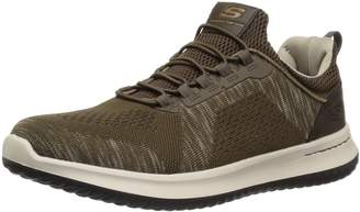 Skechers USA Men's Men's Relaxed Fit-Delson-Brewton Sneaker 8 M US