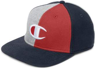 Champion Colourblock Reverse Weave Fleece Baseball Cap