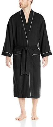 Geoffrey Beene Men's Waffle Kimono Robe