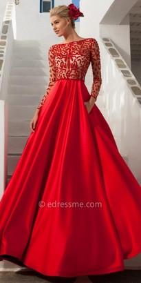 Tarik Ediz Hawai Evening Dress $1,324 thestylecure.com
