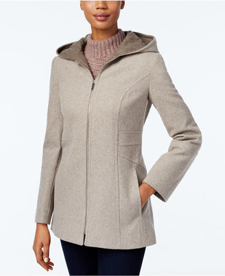 London Fog Hooded Walker Coat $195 thestylecure.com