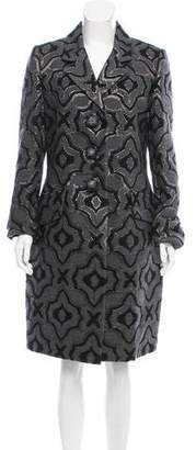 Marc Jacobs Brocade Knee-Length Coat