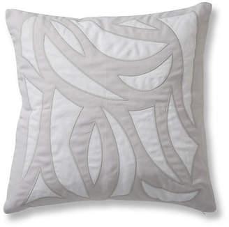 Lulu DK Cutouts 20x20 Pillow - Quartz Linen for Matouk
