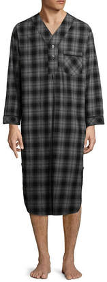 STAFFORD Stafford Men's Flannel Nightshirt